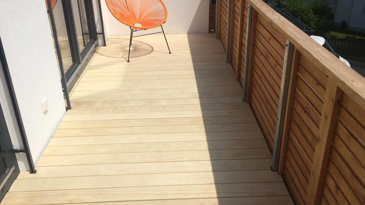 Balkon Bodenbelag Holz - Unger Böden